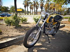 BSA Owners Club of Southern California Ride 2014 - Hansen Dam (tedcycles) Tags: vintage cafe norton triumph motorcycle british racer bsa ujm