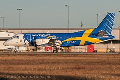 SE-LEP, NextJet, Saab 340A. c/n 127. (dahlaviation.com Thanks for over 1 !! million view) Tags: airplane sweden stockholm aircraft aviation airplanes essa saab spotting aircrafts arlanda arn planespotting nextjet