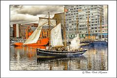 PIRATE DAY......... (Derek Hyamson) Tags: liverpool hdr albertdock pirateday