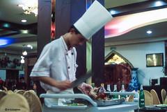 Peking-Ente # 074 # Leica R9 Fuji Provia100F - 2006 (irisisopen f/8light) Tags: china leica color colour film analog fuji slide farbe provia colorslide 100f diafilm positiv r9 irisisopen