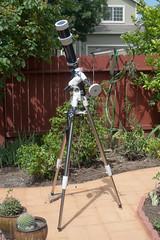 Observing Mercury transit (atgc_01) Tags: lumix telescope 102 celestron xlt refractor lx3