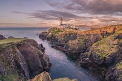 Fanad Head Lighthouse (Paul Millar44) Tags: ireland sunset sea lighthouse seascape sunrise atlantic donegal fanadhead