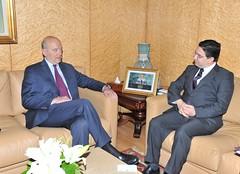 Entretien avec M. Jup (maec_maroc) Tags: france maroc jupe diplomatie maec bourita