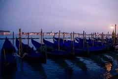 Sunset in Venice (Fabrice T.) Tags: venice sunset water boat canal nikon coucher tamron venise venezia gondolas canale coucherdesoleil nikond3200 byzance gondoles tamron18270 tamronaf18270mmf3563diiivcldasphericalif