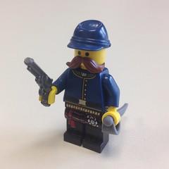 WIP Joshua Chamberlain (ranger3181) Tags: america war lego joshua union maine civil 20th commander chamberlain