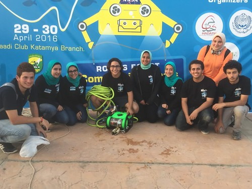 ROV Team from Egypt MATE Competition