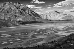 River Indus running through the Karakoram (martinovenden) Tags: mountains landscape big angle outdoor wide dramatic hills rivers karakoram indus northernpakistan floodplain