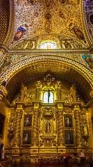 Inside the Templo de Santo Domingo