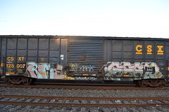 DSC_3512 (huntingtherare) Tags: freight train graffiti benchingsteelgiants krime
