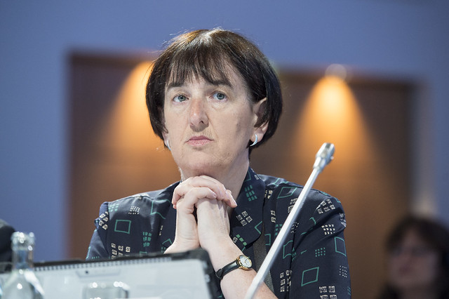 Deirdre O'Keeffe at Closed Ministerial Session