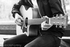 Who needs words (judethedude73) Tags: street musician music blackwhite guitar teen