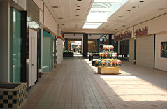 A View Inside Montgomery Mall (The Caldor Rainbow) Tags: retail mall shopping dead vacant