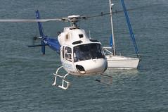 CFR1155 AS-355F-2 EC-JYJ (Carlos F1) Tags: nikon d300 lepb helipuerto heliport transporte transport aviación aviation helicoptero helicopter spotter spotting ecjyj aerospatiale as355f2 ecureuil cathelicopters barcelona spain rotorcraft
