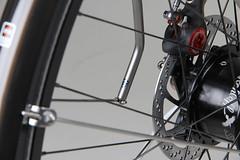 Firefly_Rohloff_Speedhub_rack_Detail (Cycle Monkey USA) Tags: commuter biketowork titanium firefly dynamo rohloff bikelife rohloffspeedhub supercommuter