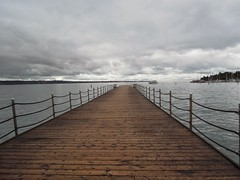 Infinite Clouds (Luigi Foscale) Tags: winter sea beach clouds nikon mediterranean slovenia laguna molo adriatic chillout pontile portoroz notime p300 nikonp300