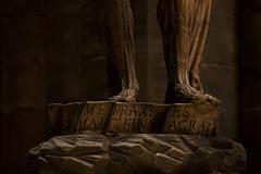 Saint Barthlemy corch. Leone Leoni, 1560. Duomo, Milano. (Clement Guillaume) Tags: italy sculpture milan statue stone italia pierre milano cathdrale dome duomo gothique italie marbre personnage artgothique leoneleoni dmedemilan giangiacomomedici saintbarthlemycorch lemedeghino