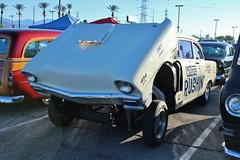 Mooneyes X-Mas Party 2015 (USautos98) Tags: chevrolet chevy hotrod 1956 custom streetrod gasser