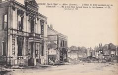Htel de ville, Albert, Somme, Picardie, 1918. (Only Tradition) Tags: france frankreich frana frankrijk ww1 80 francia franca picardie somme franciaorszg  frana