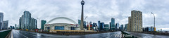 Toronto Pano (Vital Films1) Tags: toronto ontario canada cntower skydome gardiner gardinerexpressway rogerscenter