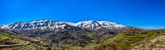Tannourine Mountains (Paul Saad (( ON/OFF ))) Tags: sky lebanon mountains nature landscape village outdoor pano panoramic hdr sonw jbeil tannourine laklouk
