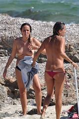 DSC_0191 (sheen_kosh) Tags: beach beauty bikini thong topless formentera