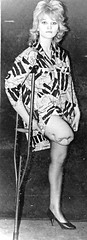 1960s SAK Amputee Girl (jackcast2015) Tags: handicapped disabled disabledwoman cripledwoman onelegwoman oneleggedwoman monopede amputee legamputee crutches