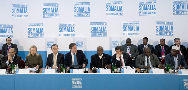 Somalia Conference at Lancaster House, London
