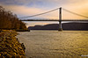 Mid-Hudson Bridge (4uiwill2) Tags: bridge sunset river hudsonriver hudsonvalley midhudsonbridge dblringexcellence tplringexcellence
