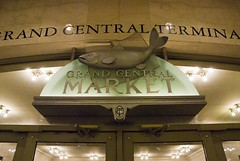 NYC Grand Central Station (dkjphoto) Tags: nyc newyorkcity railroad travel food usa newyork tourism station sign shop america train shopping tour unitedstates market manhattan railway tourist northamerica dennisjohnson wwwdenniskjohnsoncom