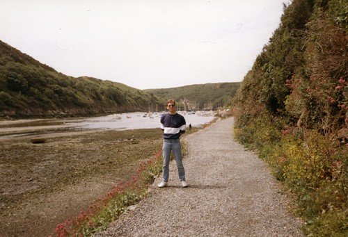 walking at Solva