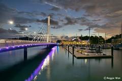 Keppel Bay in the evening. (Reggie Wan) Tags: night evening singapore asia southeastasia keppelbay reggiewan sonya850 sonyalpha850