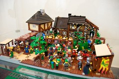 Battle of Four Armies (nerowCZ) Tags: castle village lego medieval casle legocastle