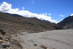 The road ahead on a Multi sport treking Mountain biking rafting kayaking trip in Nepal