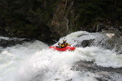 Ben Brown on the Nuno bei creek extreme Kayaking  Japan