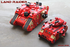 Land Raider (Jerac) Tags: lego space land warhammer marines 40000 raider wh40k