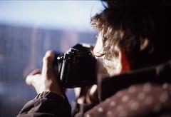 Max (Mats Andreas Nielsen) Tags: camera reflection film analog train 35mm canon 50mm focus photographer f14 slide positive shallow filmcamera fujichrome provia nikkormat ftn nikkors amserdam 400x