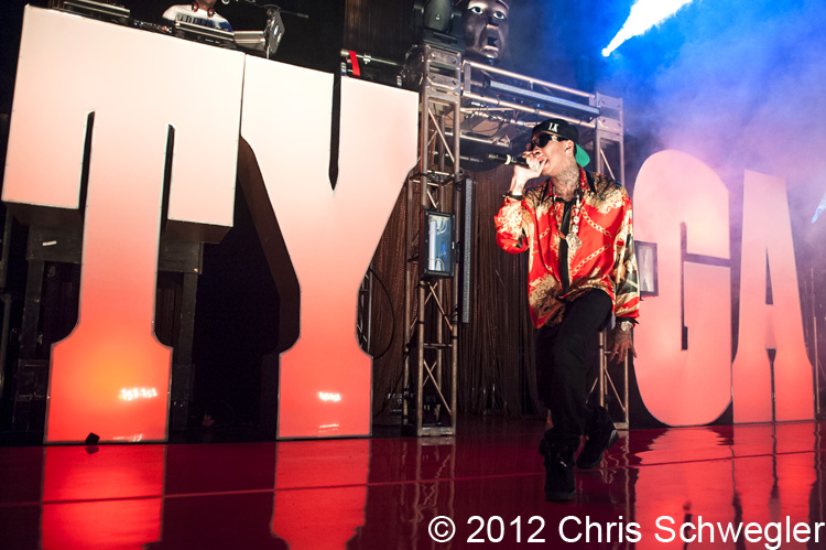 "Tyga @ Careless World Tour, Royal Oak Music Theatre, Royal Oak, MI - 03-13-12 March 13th, 2012 - Tyga performs live during the Careless World Tour at Royal Oak Music Theatre in Royal Oak, Michigan. Credit: Chris Schwegler. <a href=""http://www.schwegweb.com"" rel=""nofollow"">www.schwegweb.com</a>"