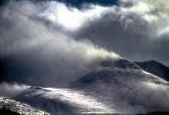 Windblown (Zach Dischner) Tags: winter mountain snow storm nature clouds canon landscape eos colorado natural dramatic peak 7d copper scape epic wintery tamron1750 canon7d spindriff