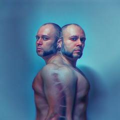 66.2012 Convergence (dracorubio) Tags: man male me self vintage nude melting skin personal surreal clones multiple clone