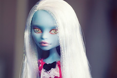 Cast a Spel on you! (Hiritai) Tags: abbey fashion monster high doll dolls customized custom mh customised repaint repainted bominable