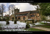 St Lukes, Endon (Paul Simpson Photography) Tags: trees windows winter snow tower church cross path religion headstones churchtower graves walkway staffordshire gravestones tombs hdr stlukes staffs endon religiousbuilding subtlehdr religiousphotos dioceseoflichfield churchphotography photosofchurches february2012 paulsimpsonphotography parishofendonwithstanley