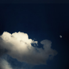 hello moon (moosebite) Tags: blue sky cloud moon texture nature clouds artistic background bluesky textures backgrounds moosebite jrgoodwin