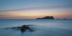 Minimal Sunset... (Dani_ibizA) Tags: sunset atardecer nikon long exposure filters islas cala rocas exposicion larga compte cokin d700