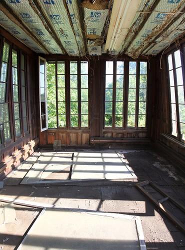 Tower turret top secret room