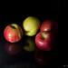 Apples, mele, apfel, still life test