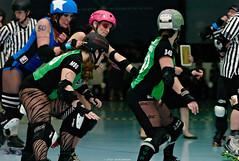 bytes_vs_hellcats_L2050835 (nocklebeast) Tags: santacruz sports action rollerderby skates attribution somerightsreserved noncommercial scdg leicasummicron90mmf20apoasph svrg santacruzderbygirls killabytes harborhellcats