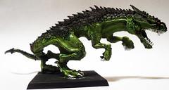 Carnosaur Right (Camper_Bob) Tags: miniature painted fantasy warhammer lizardmen