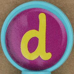 Rubber stamp letter d (Leo Reynolds) Tags: canon eos iso100 d letter squaredcircle 60mm f80 ddd oneletter letterset lowercase 0125sec 40d hpexif grouponeletter xsquarex xleol30x sqset073