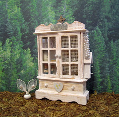 Miniature Angel Altered Cabinet~1:12th Scale (Enchanticals~ Death in Family) Tags: wood flowers blue white man art nature glass metal angel altered vintage silver hearts stars spiral gold book miniature beads wings key heaven doors cross heart nest bottles cabinet furniture handmade lace assemblage gothic mirrors birdhouse pearls fantasy eggs crown hutch horn bliss angelic heavenly homedecor collectibles birdsnest enchanted celestial dioramas hourglass potions crystalball gothicwindows birdseggs 112scale roomboxes 112thscale dollhouseminiature onetwelfthscale etsyteams minimakers faeteam damteam flickrunited teammids enchanticals miniaturedollhousescale minitreasures scaleoneinch fantasycraft enchanticalsetsy miniaturesindollhousescale