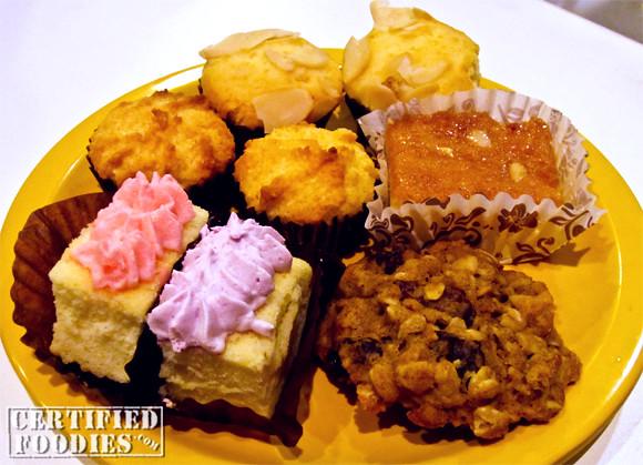 Desserts at Seoul Garden